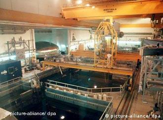 Reaktorhalle des abgeschalteten Atomkraftwerks Forsmark