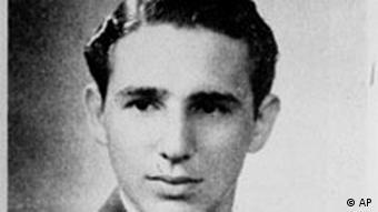 Castro-Foto aus seinem High-School-Buch, 1945 (Quelle: AP)