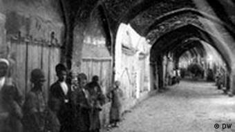 100 Jahre Konstitutionelle Revolution im Iran. Teheraner Bazar : Mashrouteh