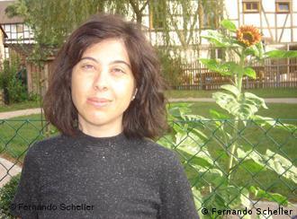 Moradora da Kommune: Jacqueline Bernardi