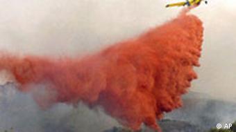 BdT Waldbrände in Spanien