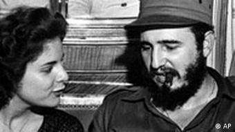 Marita Lorenz und Fidel Castro