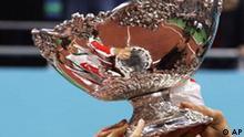 Tennis Symbolbild Davis Cup Pokal