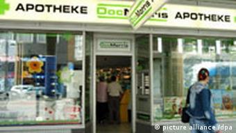 DocMorris store in Saarbrücken in August