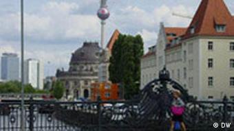Bildreportage Berliner Mauer Brücke Friedrichstrasse