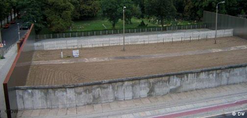 Bildreportage Berliner Mauer Maueranlage