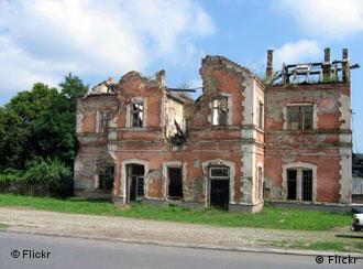Vukovar still shows signs of the battles from 1991