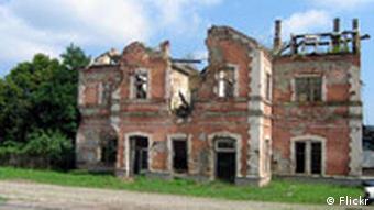 Razorena kuća u Vukovaru