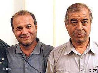 ابراهیم مددی و منصور اسانلو − هر دو در زندان