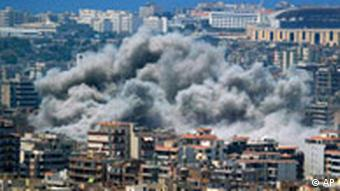 Beirut wieder unter Israelischem Beschuß