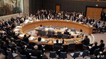 Der Sicherheitsrat in New York, Quelle: AP