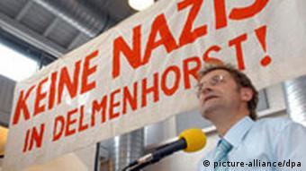 Protest gegen geplante «Nazischule» in Delmenhorst