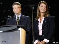 Bill und Melinda Gates - AP