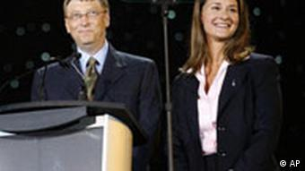 Bill und Melinda Gates AIDS Konferenz in Toronto