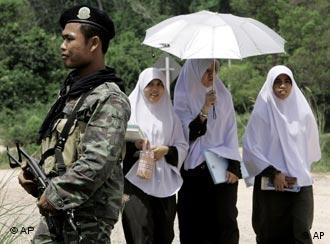 The Thai government regards the insurgency in the Muslim-dominated South as a law-and-order problem