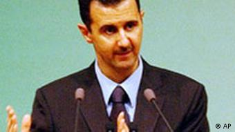 Syrien Präsident Baschar el Assad in Damaskus