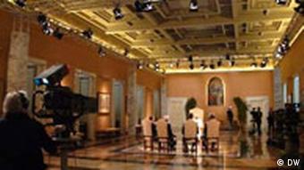 Der Sala dei Svizzeri in Castelgandolfo
