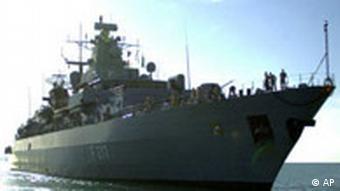 Bundesmarine nach Libanon Fregatte Bayern