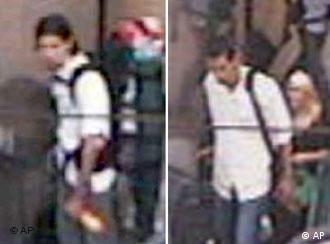 Imagens mostram dois suspeitos na estação central de Colônia