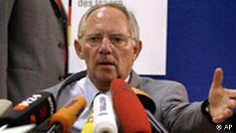 BKA Terror Bahn Ermittlungen Wolfgang Schäuble