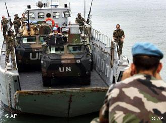 Italy, not France, could make up the bulk of Europe's contribution to the peacekeepers