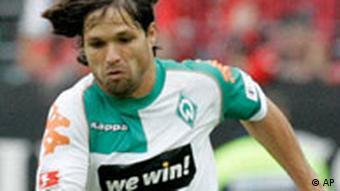 Diego Werder Bremen umgeht Werbeverbot