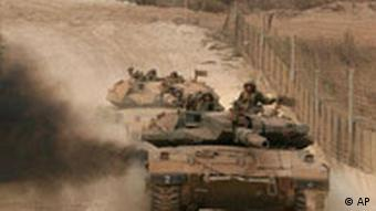 Rückzug Israel Panzer aus Libanon