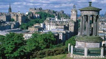 Edinburgh Ansicht Panorama