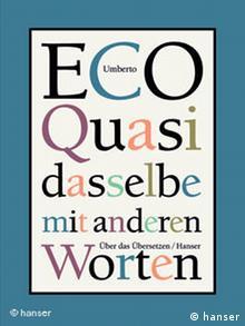 Buchcover Umberto Eco Quasi dasselbe mit anderen Worten