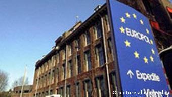 Europol-Gebäude. Quelle: ap