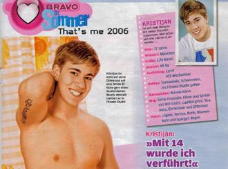 Germanys Teen Magazine Bravo 19