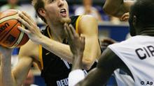 BdT Basketball-WM 2006 in Hiroshima Japan Deutschland - Angola Dirk Nowitzki
