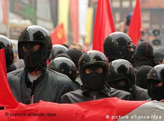 Anti-Germans are against what they see as a newer form of fascists than neo-Nazis