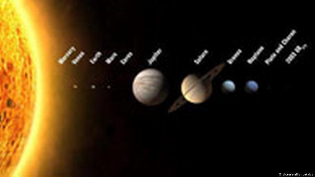 Pluto Ist Kein Planet Kultur Dw 24082006