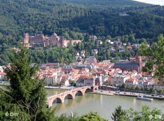 Heidelberg gehört zu Baden-Württemberg