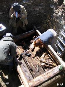 Archäologie Mongolei 2500 Jahre alte Eismumie entdeckt
