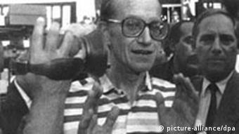 Rudolf Cordes nach seiner Freilassung (Foto: dpa)