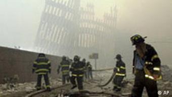 Bildgalerie 11. September 2001 Cortlandt Street