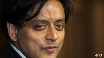 Shashi Tharoor ist Kandidat für das Amt des UN-Generalsekretärs
