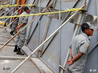 Schlechter Ruf: Mexikanische Polizei