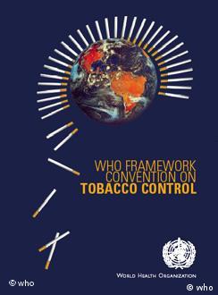 پلاکارت سازمان جهانى بهداشت به مناسبت روز جهانی بدون دخانیات