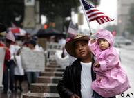 Acción de protesta en San Francisco, EE. UU., 2006.