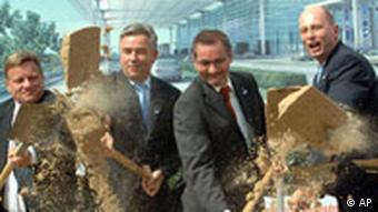 Spatenstich Flughafen Berlin Schönefeld