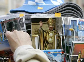 Pope Benedict, a native Bavarian is extremely popular in the southern German state
