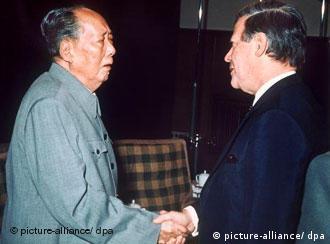 Bundeskanzler Helut Schmidt besucht Mao Tse-tung
