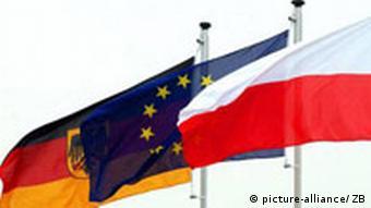 Polen Flagge Deutschland EU