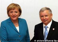 German Chancellor Angela Merkel  is eager to better relations with Poland