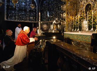 Во время визита Папы Римского 11 сентября 2006 года