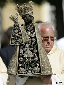 Papstbesuch - Schwarze Madonna von Altötting