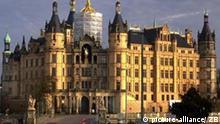 Kështjella Shverinit ku është vendosur parlamenti i landit (Meklenburg-Vorpomern)